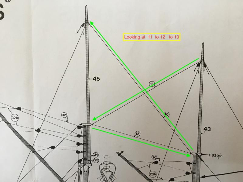 Guidance For Interpreting Plans - Masting  Rigging And Sails