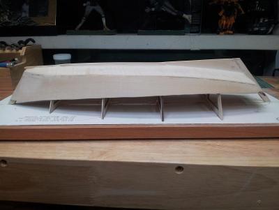 Willie L Bennett Chesapeake Bay SkipJack 15. Ready for Primer and inspection - Starboard View.jpg