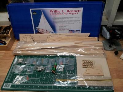 Willie L Bennett Chesapeake Bay SkipJack 2. Contents.jpg