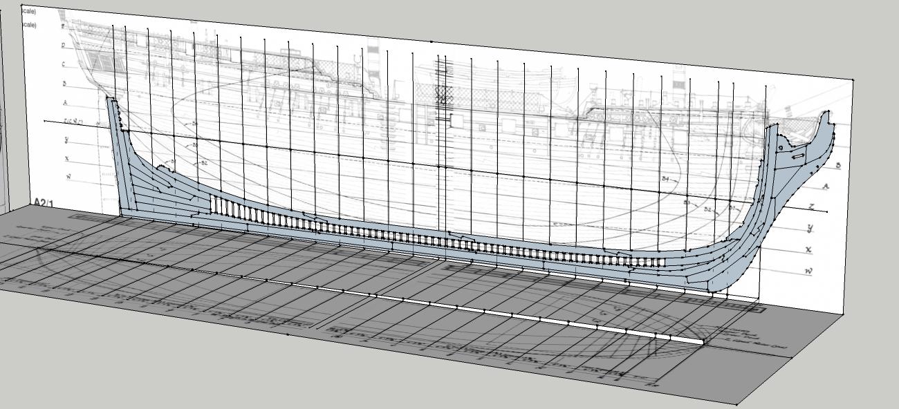 Model Ship Plans Free