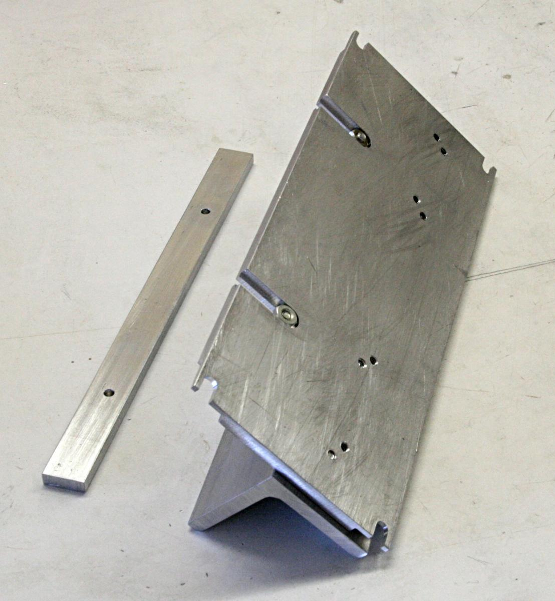 A Slitting/routing Fixture For The Mini Mill