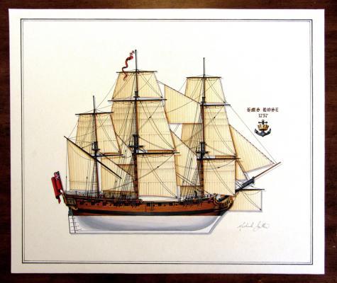 HMS Rose 1757 Painting web.jpg
