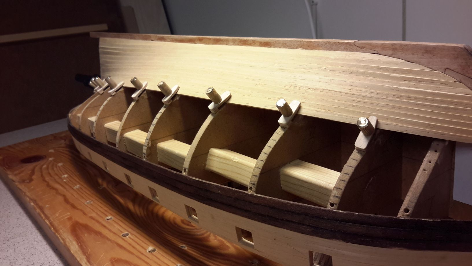 Planking screws (Moved by moderator) - Building, Framing, Planking and plating a ships hull and ...