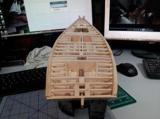 Willie L Bennett Chesapeake Bay SkipJack 29. Plankshears installed 2.jpg