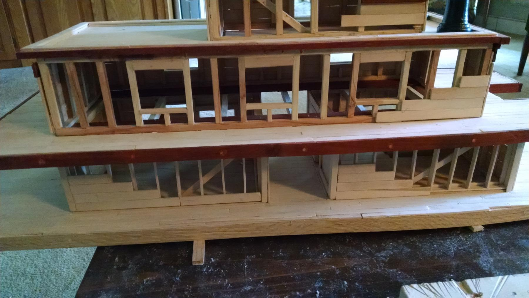 Stern wheeler by keith simmons no plans 1 4 quot 1 build logs