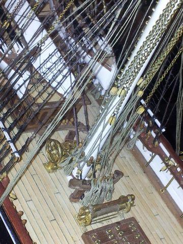Main Mast Fife Rail