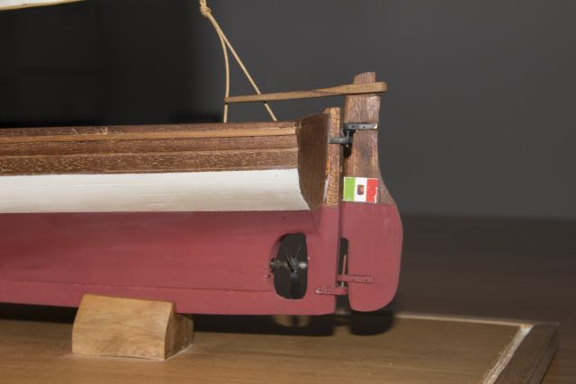 lifeboat Salvatore Padre scale 1/20