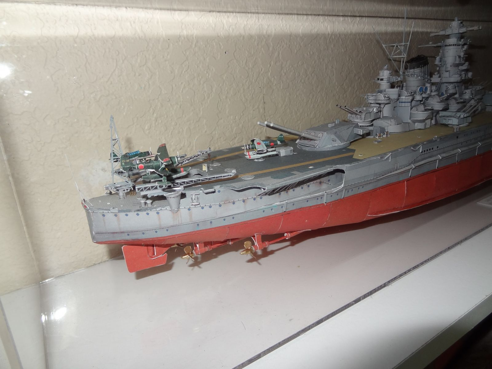 Yamato - 1:380 - All paper - Nautical Research Guild's Model Ship World