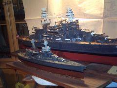 USS WESTVIRGINIA  USS. ARIZONA