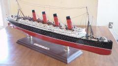 RMS LUSITANIA 1906  1915