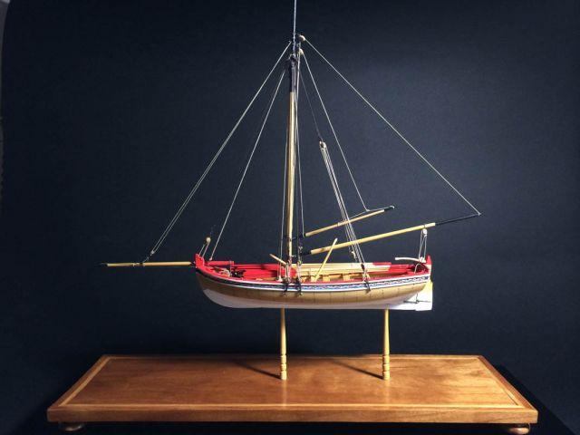 18th Century Longboat