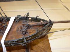 English Naval Cutter 12 Gun 1820 National Maritime Museum UK