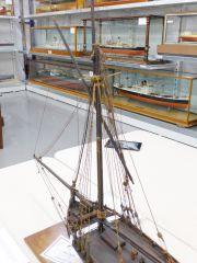 English Pilot Cutter early 18thC National Maritime Museum UK