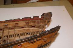 50 gun ship of around 1715