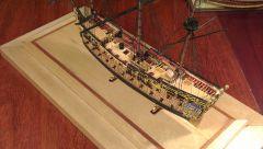 Lennox 17th Century Restoration Warship