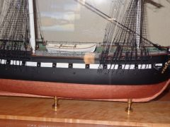 USS CONSTITUTION BOW