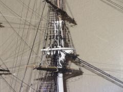 USS CONSTITUTION MAIN MAST