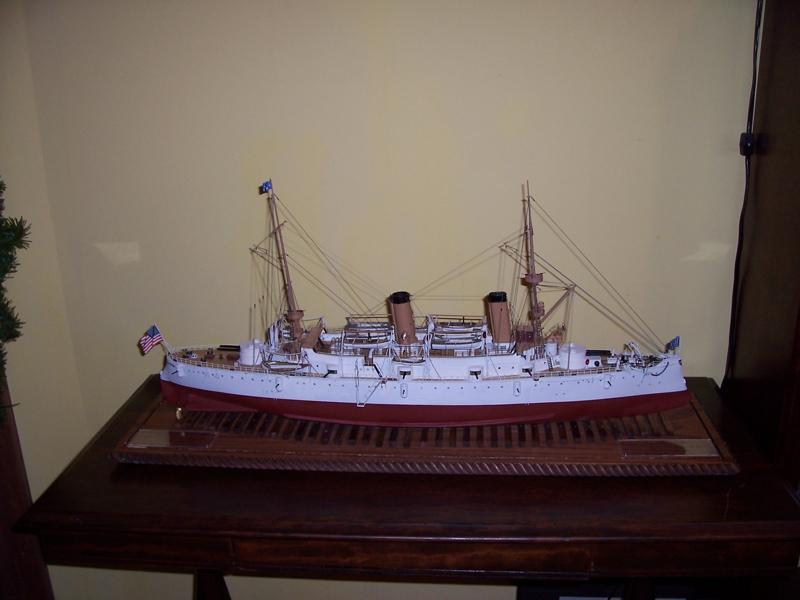 Bluejacket's USS Olympia kit