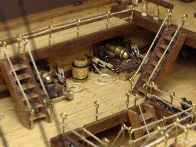 Gun deck detail