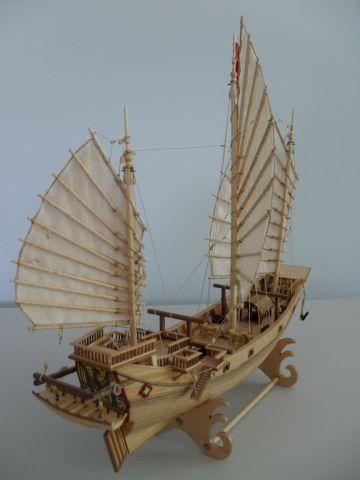 Stern View Amati Chinese Pirate Junk