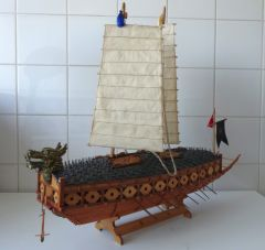Korean Turtle Warship 1:86 by wim500