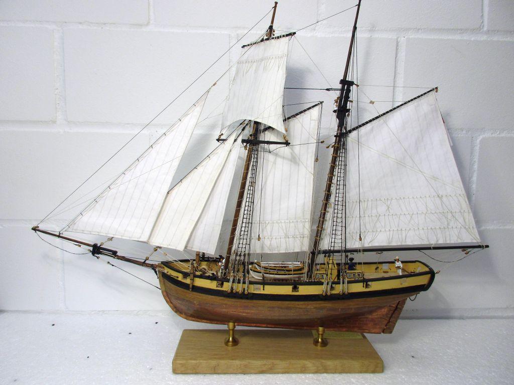 HMS Pickle, Caldercraft, my interpretation