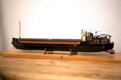 European small river ship