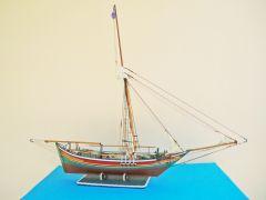 A1.Tserniki vessel of NE. Aegean Sea with penna rigging