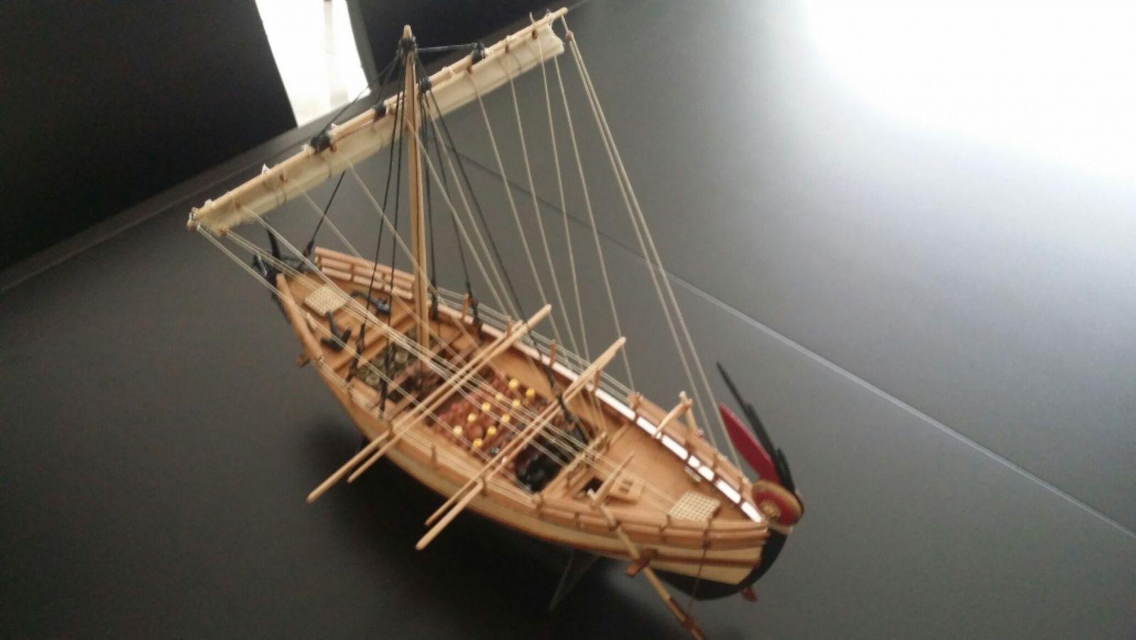 olkas 350bc 1/43 merchant ship of the greek antiquity