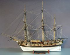 H.M.S. Pegasus 1:64, my second ship model