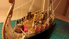 Viking longship Drakkar