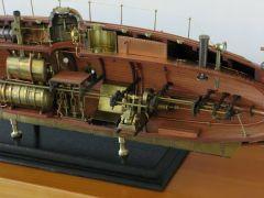 2-cylinder engine and bridge