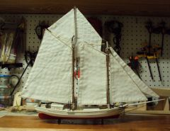Biloxi schooner 1/148 scale POB
