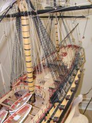 Agamemnon mast detail