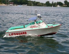 LA County Fire Dept- Baywatch Rescue Boat No.12