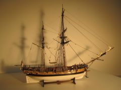 HM Bomb Vessel Granado 1756 CC kit 1:64