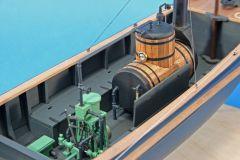 engine   boiler from aft