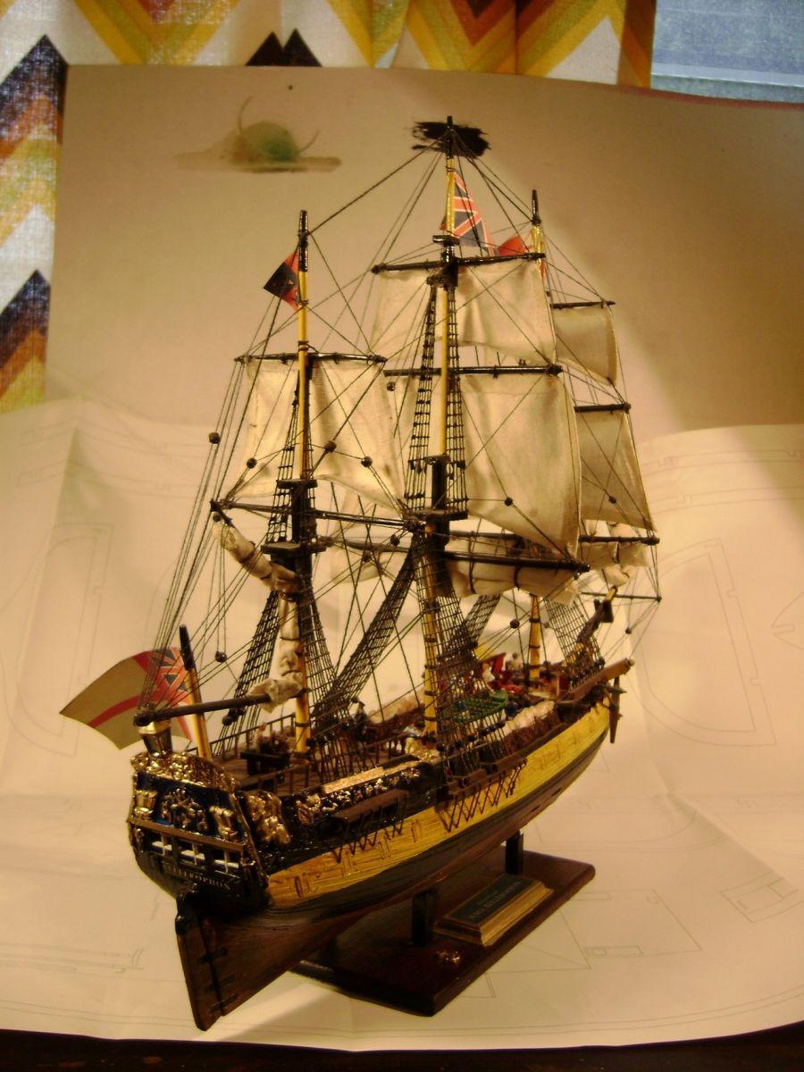 HMS Bellerophon 1/150 by Trafalgarhero