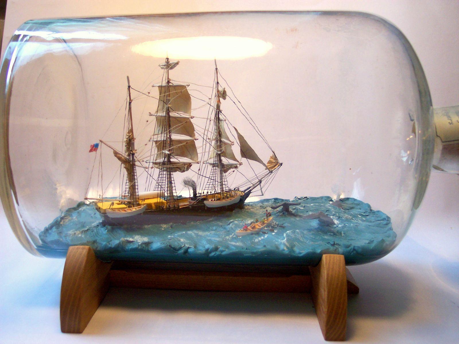 Charles. W. Morgan Whaling Scene
