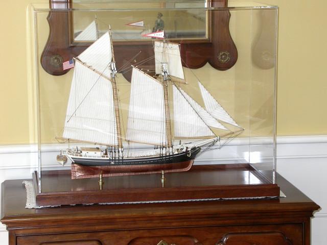"Maine Topsail Schooner ""Eagle"", 1847"
