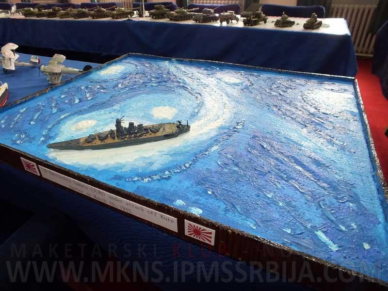 IJN Yamato 1/1200 Revell kit - Nautical Research Guild's Model Ship
