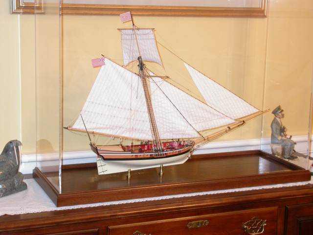 Armed Virginia Sloop, 1768