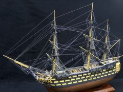 Worlds smallest fully rigged HMS Victory?