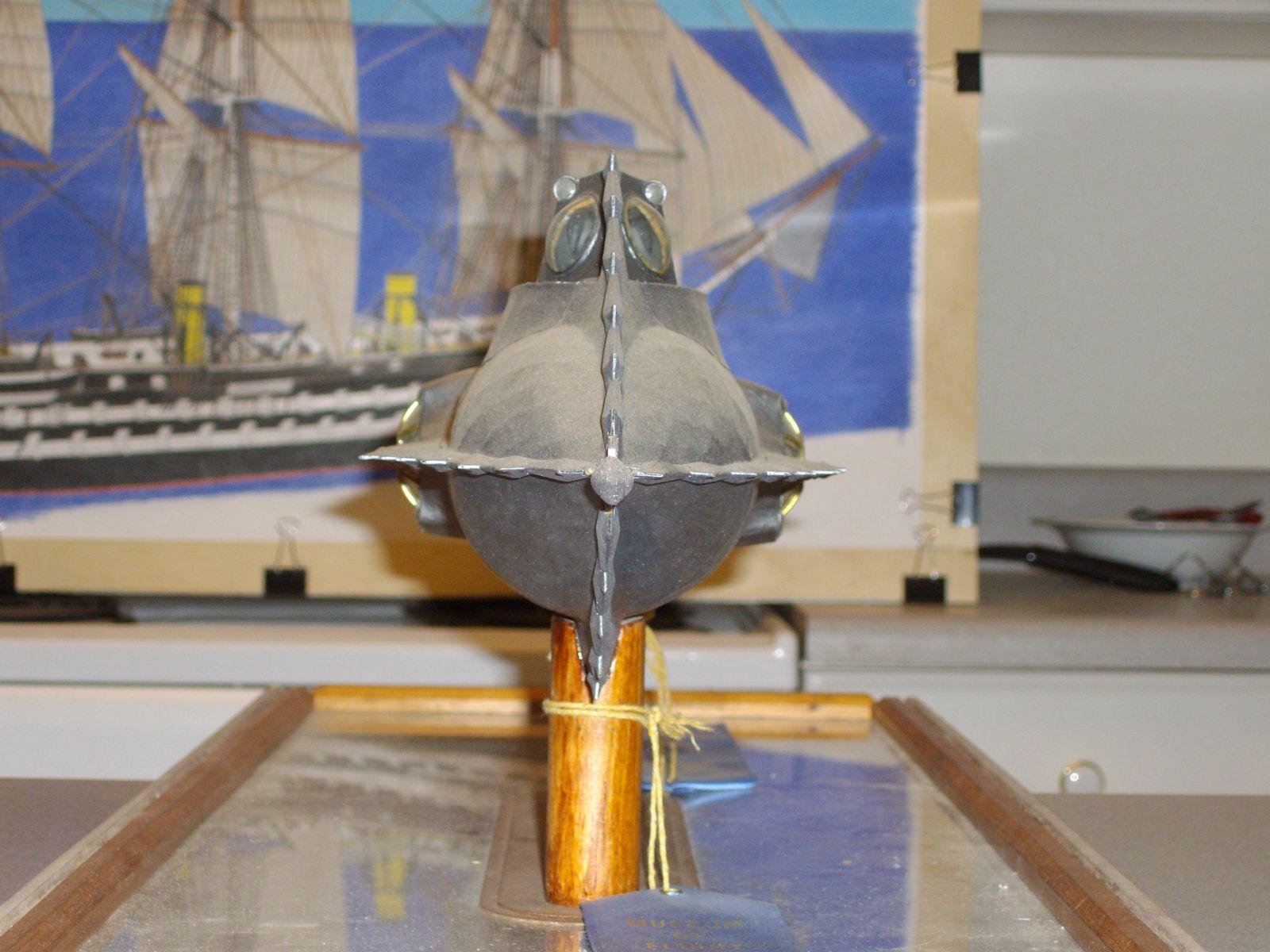 048  1/48th.scale scratch built Disney Nautilus submarine