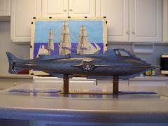 050  1/48th. scale scratch built Disney Nautilus submarine