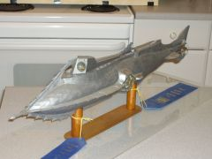 053   1/48th.scale scratch built Disney Nautilus submarine