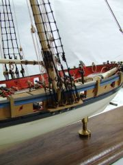 Armed Virginia Sloop Model Shipways