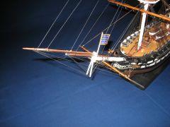 IMG 0103, Head-rig showing bowsprit, jibboom, and fling jibboom.