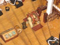 IMG 0110, ship's wheel, binnacle, et al.
