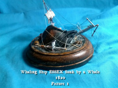 Stove by a Whale! Sinking of the ESSEX 1820